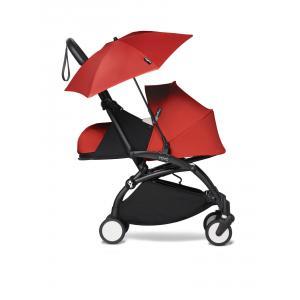 Babyzen - BU677 - YOYO2 pousssette idéale dès la naissance et son ombrelle rouge noir 0+ (451406)