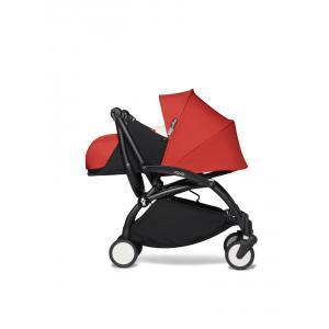 Babyzen - BU677 - Poussette YOYO² 0+ ombrelle Rouge - cadre noir (451406)