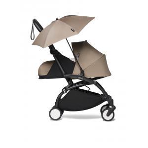 Babyzen - BU678 - Poussettepour nouveau-né Babyzen YOYO2 avec son ombrelle taupe noir 0+ (451408)
