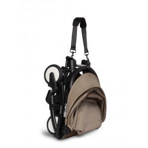 Babyzen - BU678 - Poussettepour nouveau-né Babyzen YOYO2 avec son ombrelle taupe noir nouveau pack 0+ (451408)