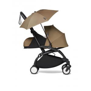 Babyzen - BU679 - Poussette Babyzen YOYO 2 bébé face aux parents avec son ombrelle toffee noir 0+ (451410)
