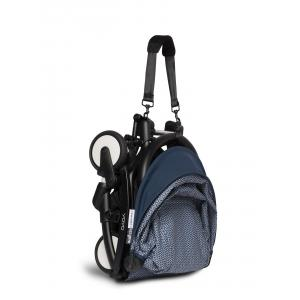 Babyzen - BU690 - Poussette YOYO² 0+ 6+ ombrelle Bleu Air France - cadre noir (451432)