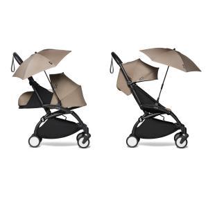 Babyzen - BU696 - Poussette naissance et ombrelle taupe Babyzen YOYO 2 noir 0+ 6+ - Nouveauté (451444)
