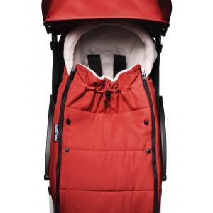 Babyzen - BU704 - Poussette compacte et maniable Babyzen YOYO2 et chancelière rouge blanc 0+ 6+ - Nouveauté (451460)