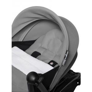 Babyzen - BU755 - Poussette naissance maniable YOYO2 gris et planche à roulettes blanc 0+ 6+ - Nouveauté (451508)