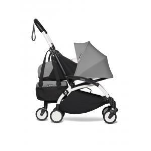Babyzen - BU773 - Poussette YOYO2 pliable avec sac shopping gris blanc nouveau pack 0+ (451544)