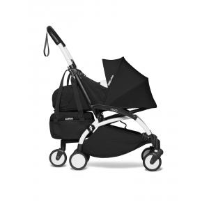 Babyzen - BU774 - Poussette transportable en avion YOYO2 et son sac shopping noir blanc 0+ (451546)