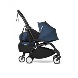 Babyzen - BU780 - Poussette ultra-compacte avion YOYO2 et YOYO+ bag bleu Air France noir nouveau pack 0+ (451558)