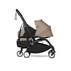 Babyzen - BU786 - Poussette maniable YOYO2 et YOYO+ bag taupe noir nouveau pack 0+ (451570)