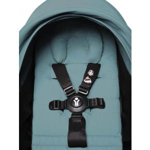 Babyzen - BU788 - Poussette 2en1 transportable en avion avec Yoyo+ shopping bag aqua blanc 0+ 6+ (451574)