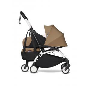 Babyzen - BU796 - Poussette Babyzen Yoyo2 maniable et compacte avec Yoyo+ shopping bag toffee blanc 0+ 6+ (451590)
