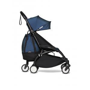 Babyzen - BU798 - Poussette YOYO 2 maniable et légère avec YOYO+ bag bleu Air France noir 0+ 6+ - Nouveauté (451594)