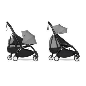 Babyzen - BU800 - Poussette maniable YOYO2 Babyzen et YOYO+ sac shopping gris noir 0+ 6+ (451598)