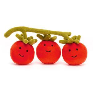 Jellycat - VV6T - Vivacious Vegetable Tomato - 8  cm (452428)