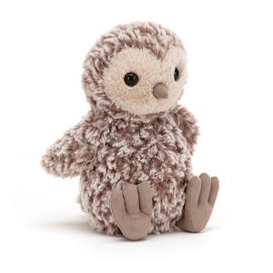 Jellycat - TOR6O - Peluche hibou Torvill Whick - l = 10 cm x H =18 cm (452468)