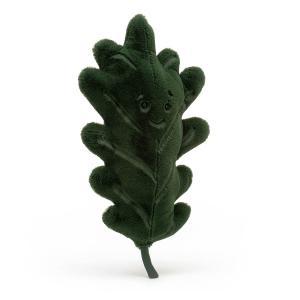 Jellycat - LEAF2O - Peluche feuille de chêne Woodland - l = 26 cm x H =49 cm (452472)