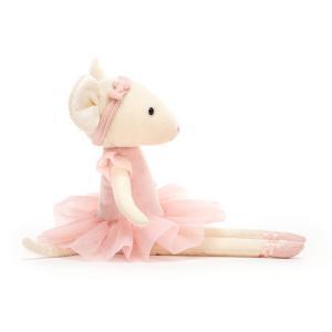 Jellycat - PM6C - Peluche souris Pirouette Candy - l = 6 cm x H =27 cm (452494)