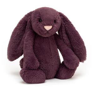 Jellycat - BAS3PLUM - Bashful Plum Bunny Medium - 31  cm (452656)