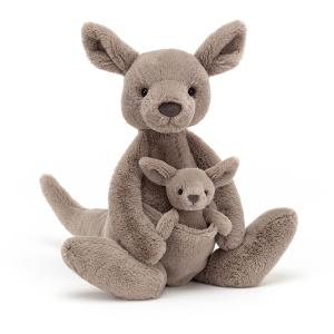 Jellycat - KAR2K - Peluche kangourou Kara - l = 12 cm x H =37 cm (452684)