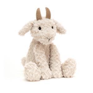 Jellycat - CRUM6G - Peluche chèvre Crumble - l = 12 cm x H =28 cm (452692)
