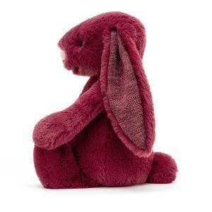 Jellycat - BAS3SCAS - Bashful Sparkly Cassis Bunny Medium - 31 cm (452760)