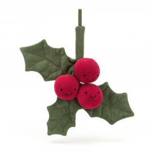 Jellycat - A6H - Amuseable Holly - 19  cm (452794)