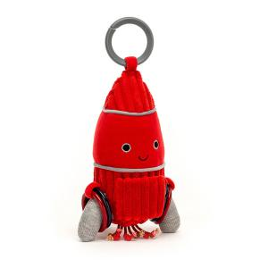 Jellycat - COSAT2R - Cosmopop Rocket Activity Toy - 22 cm (452828)