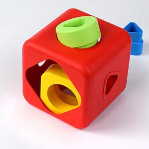 Bioserie Toys - S2BC01 - Cube à trier 100% naturel - Bio (452894)
