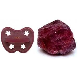 Hevea - 234521 - Tétine en caoutchouc rouge rubis 3-36 (452978)
