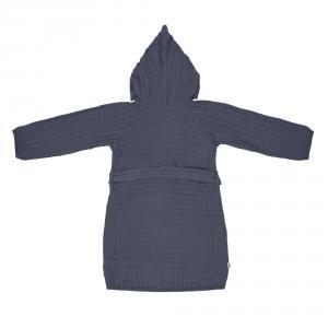 Lassig - 1312013401-36 - Peignoir en mousseline bleu marine 24-36 mois (453057)