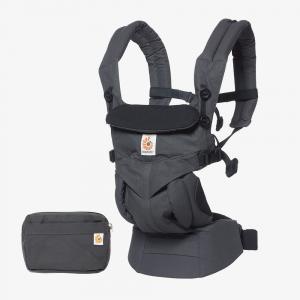 Ergobaby - BCS360COAL - Porte-bébé Omni 360 - Charbon noir (453162)