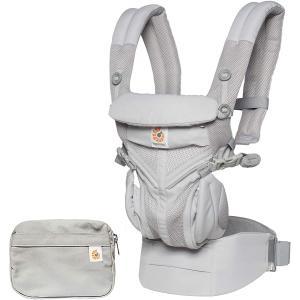 Ergobaby - BCS360PGREY - Porte-bébé Omni 360 cool air mesh gris perle (453170)
