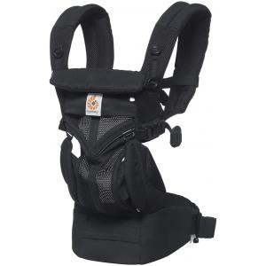 Ergobaby - BCS360PONYX - Porte-bébé Omni 360 cool air mesh noir (453174)
