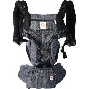 Ergobaby - BCS360PINDIGO - Porte-bébé Omni 360 Mesh - Bleu Jean (453180)