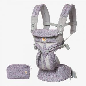 Ergobaby - BCS360PPKDG - Porte-bébé Omni 360 Mesh - Camouflage Violet (453190)