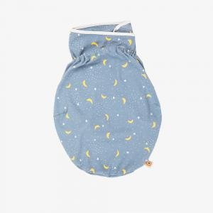 Ergobaby - SWASTELL - Couverture d'Emmaillotage - Bleu Stellaire (453212)