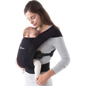 Ergobaby - BCEMABLK - Porte-bébé nouveau-né Embrace Noir Intense (453214)