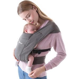 Ergobaby - BCEMAGRY - Porte-bébé nouveau-né Embrace Gris (453216)