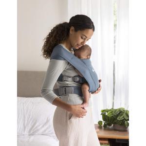 Ergobaby - BCEMAOXBLU - Porte-bébé nouveau-né Embrace Bleu Gris (453218)