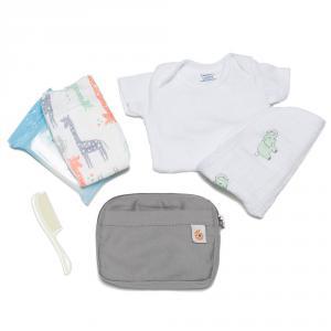 Ergobaby - POUCHGRY - Pochette accessoires porte-bébé Gris (453290)