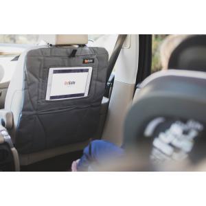 BeSafe - 10010880-Anthracite-Std - Double protection pour assise et dossier de siège avec poche pour écran tablette  (453562)