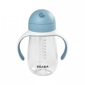 Beaba - 913479 - Tasse paille 300 ml - windy blue (453752)