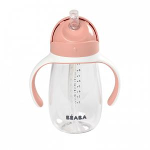Beaba - 913480 - Tasse paille 300 ml - old pink (453754)