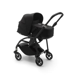 Bugaboo - 500233ZW01 - Nacelle Bugaboo Bee6 complète noire (453834)