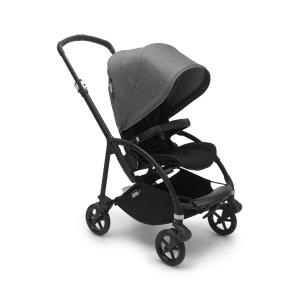 Bugaboo - 500305GM01 - Capote poussette Bugaboo Bee6 Gris chiné (453838)