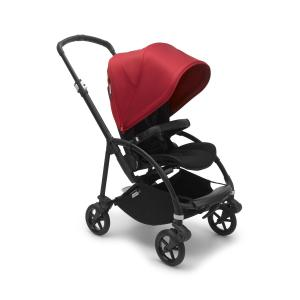 Bugaboo - 500305RD01 - Capote poussette Bugaboo Bee6  Rouge (453844)