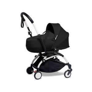 Babyzen - BU890 - Poussette YOYO2 nacelle noir cadre blanc et planche à roulettes (453924)