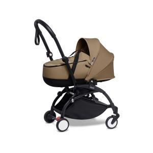 Babyzen - BU903 - Poussette YOYO2 nacelle toffee cadre noir et YOYO bag (453940)