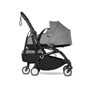 Babyzen - BU901 - Poussette YOYO2 nacelle gris cadre noir et YOYO bag (453946)