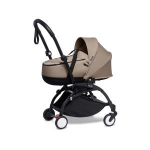 Babyzen - BU898 - Poussette YOYO2 nacelle taupe cadre noir et YOYO bag (453968)